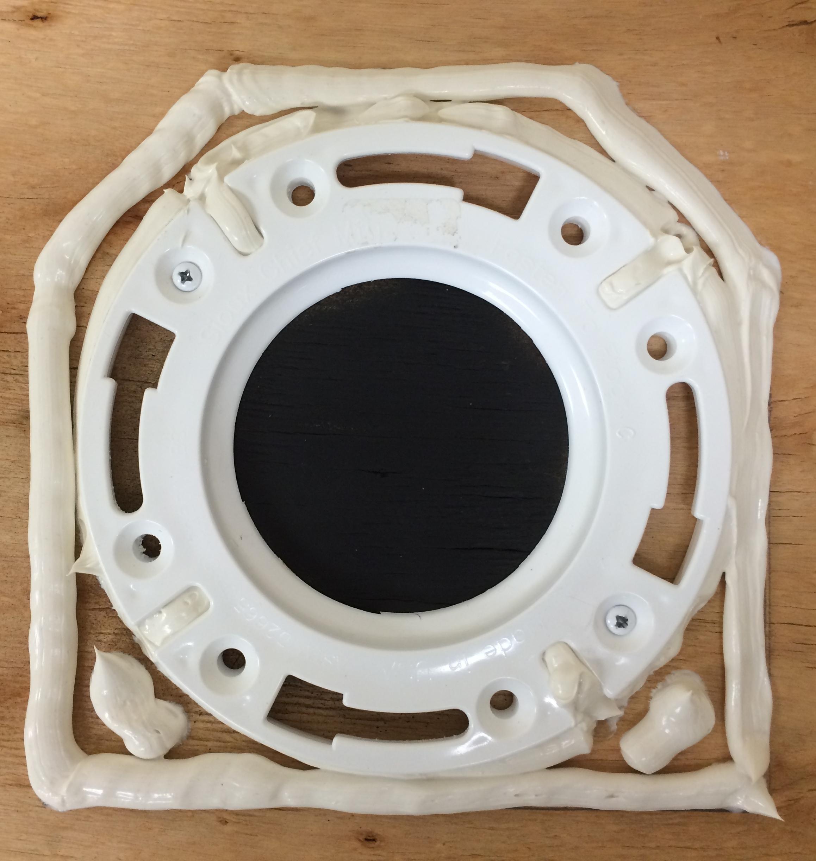 toilet flange tile guide instructions barracuda brackets. Black Bedroom Furniture Sets. Home Design Ideas