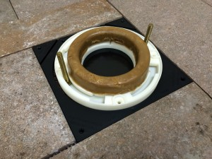 Toilet Flange Tile Guide Barracuda Brackets