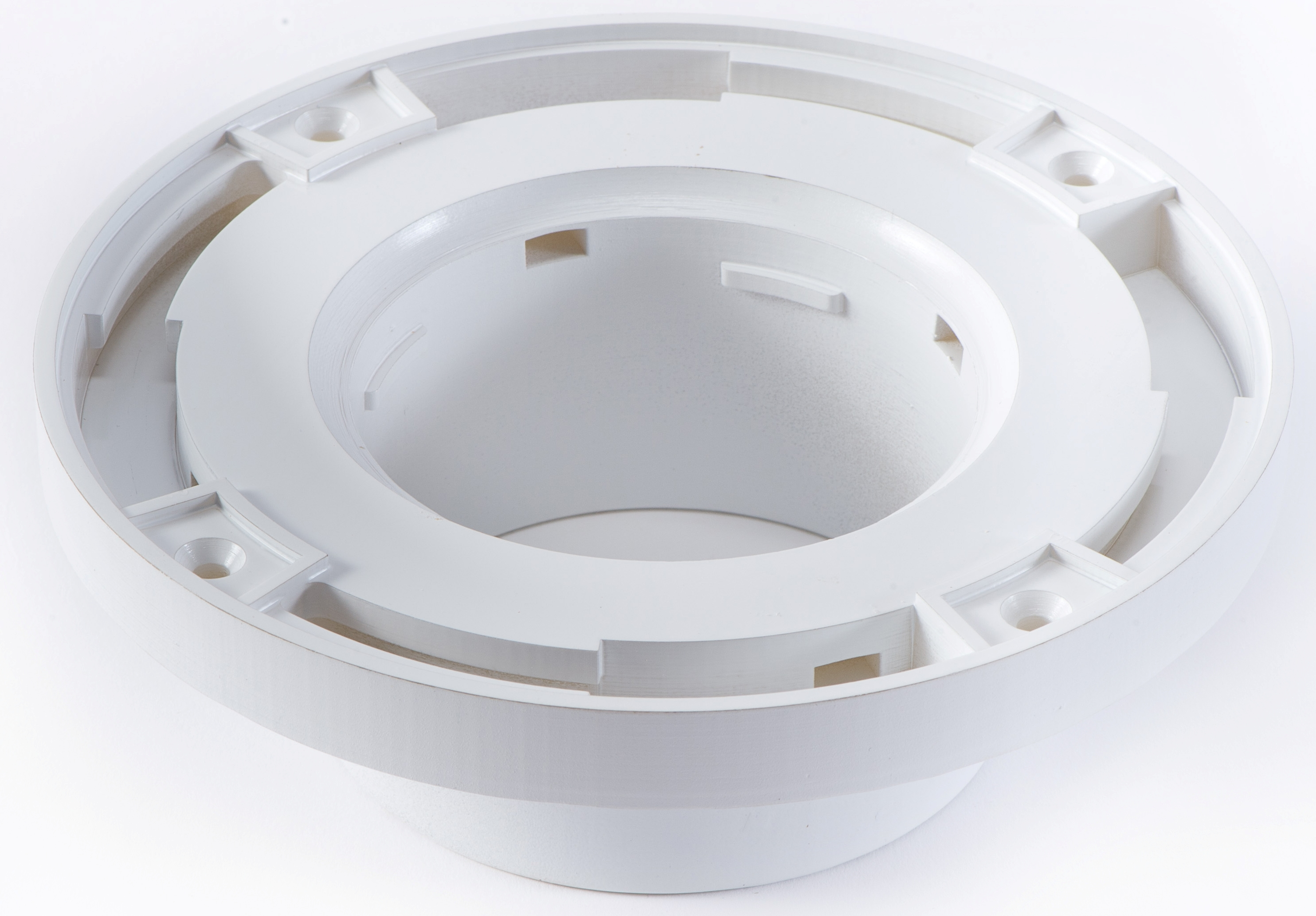 Toilet Flange Tile Guide And Barracuda Brackets